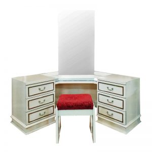 Barok Dressing Table with Mirror