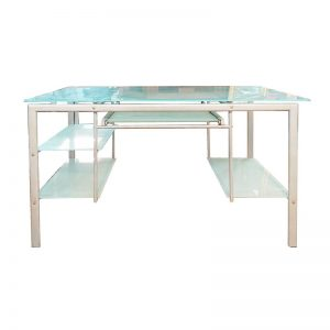 Office Table with Glass Top