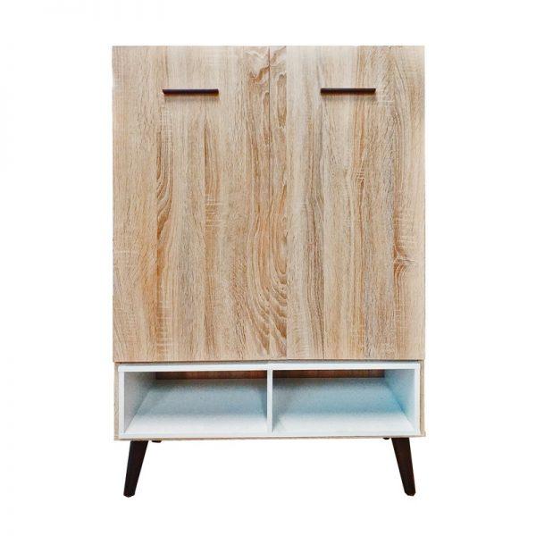 Wooden Cabinet with 2 Doors