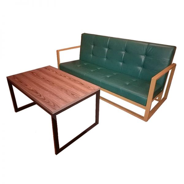 Set Office 2-Seater Couch plus Table