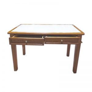 Wooden Writing Table with 2 drawers