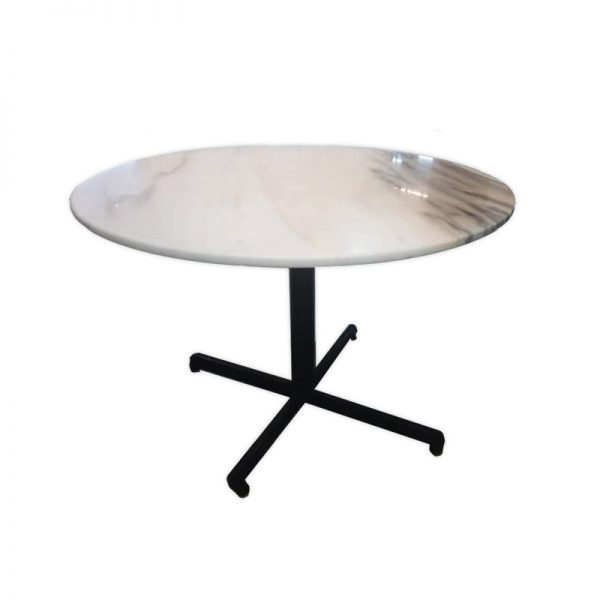 Restaurant Table with Marble Top