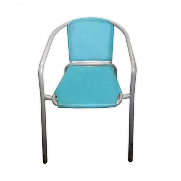 Fabric Restaurant Chair with Metal Frame