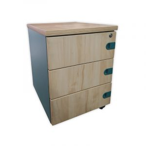 3-Drawer Office Pedestal