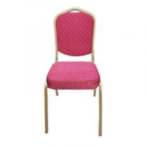 Rose Fabric Banquet Chair