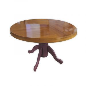 Heavy Wooden Dining Table