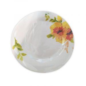Flowerful Plate