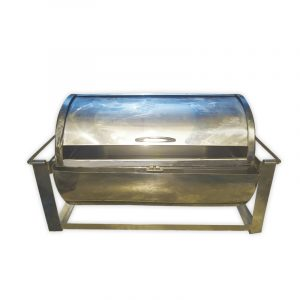 Stainless steel Shafing Dish with Roll Lid