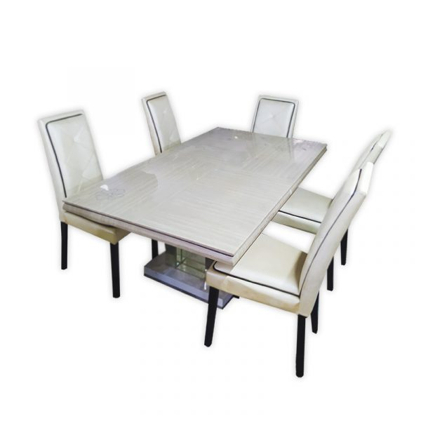 Dining Table Set with PU Chair