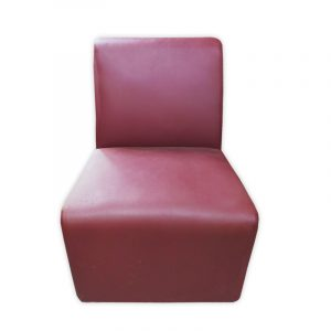 PU Reception Bench Single Sofa