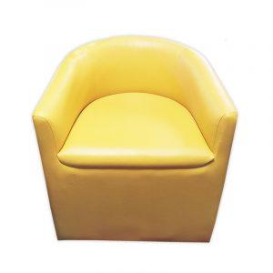Retro PU Sofa Chair
