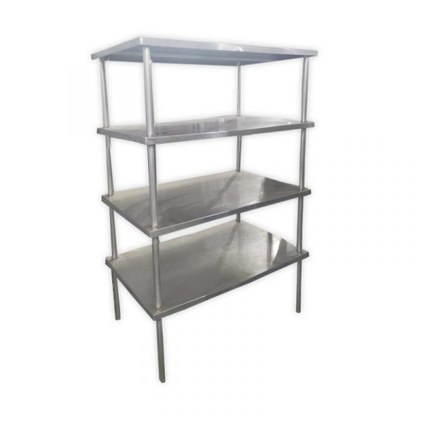 4-Tier Stainless Steel Rack