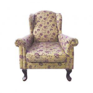 Fabric Wingchair