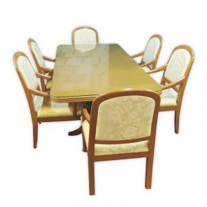 Presidential Suite, Dining Table with 6 Chairs