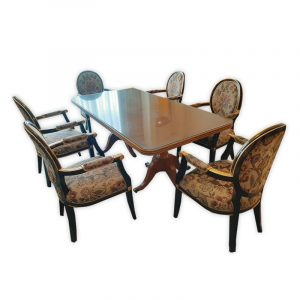 Presidential Suite, Barok Dining Table with 6 Chairs