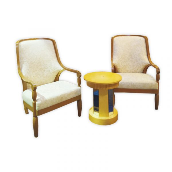 5-Star Royal Suite, Barok Chairs and Coffee Table