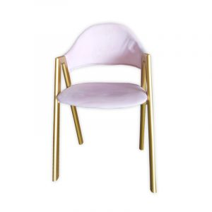 Scandinavian Dining Chair with Armrests