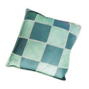 Square Leather Pillow