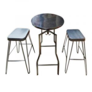 Restaurant Table with 2 Chairs