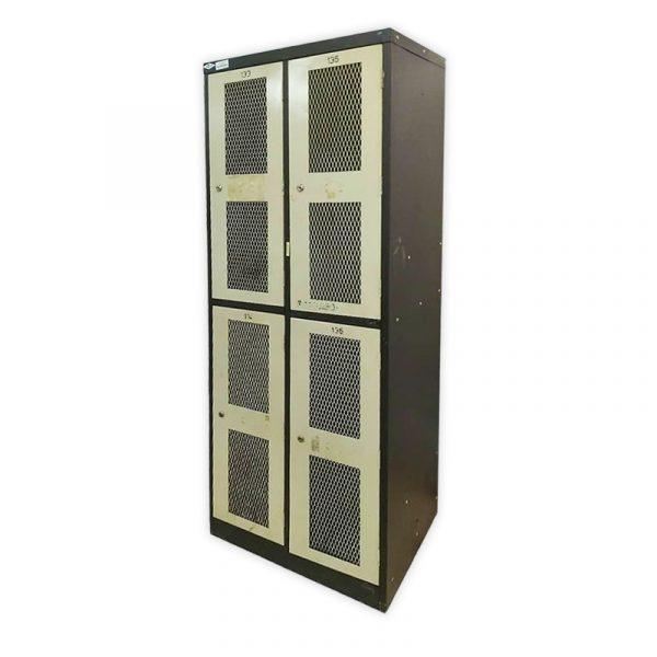 Metal Locker 4-door Cabinet