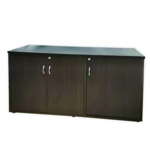 Wooden 3-door Office Cabinet
