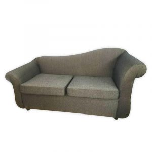 2-Seater Fabric Couch (reupholstered)