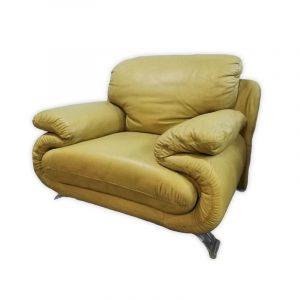 Leather Black Sofa Chair