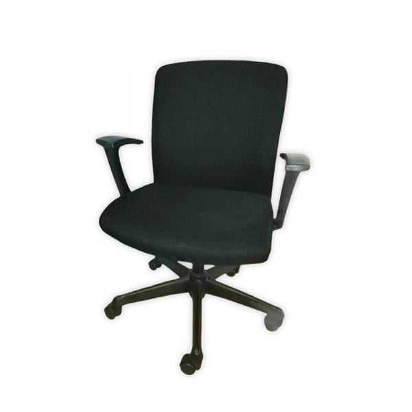 Fabrick Black Office Chair