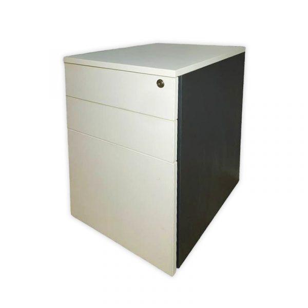 Office White Pedestal