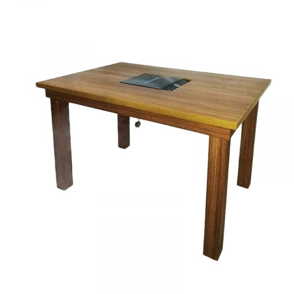 Steamboat Wooden Dining Table