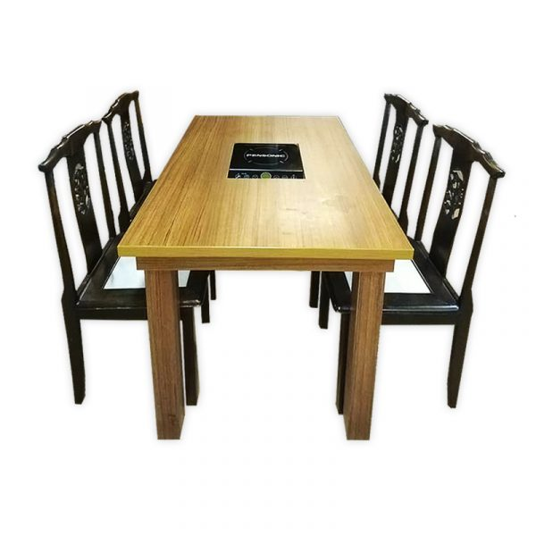 Steamboat Wooden Dining Set
